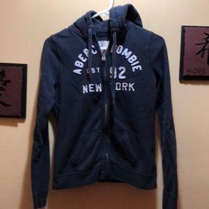 Abercrombie & Fitch Navy Sweatshirt